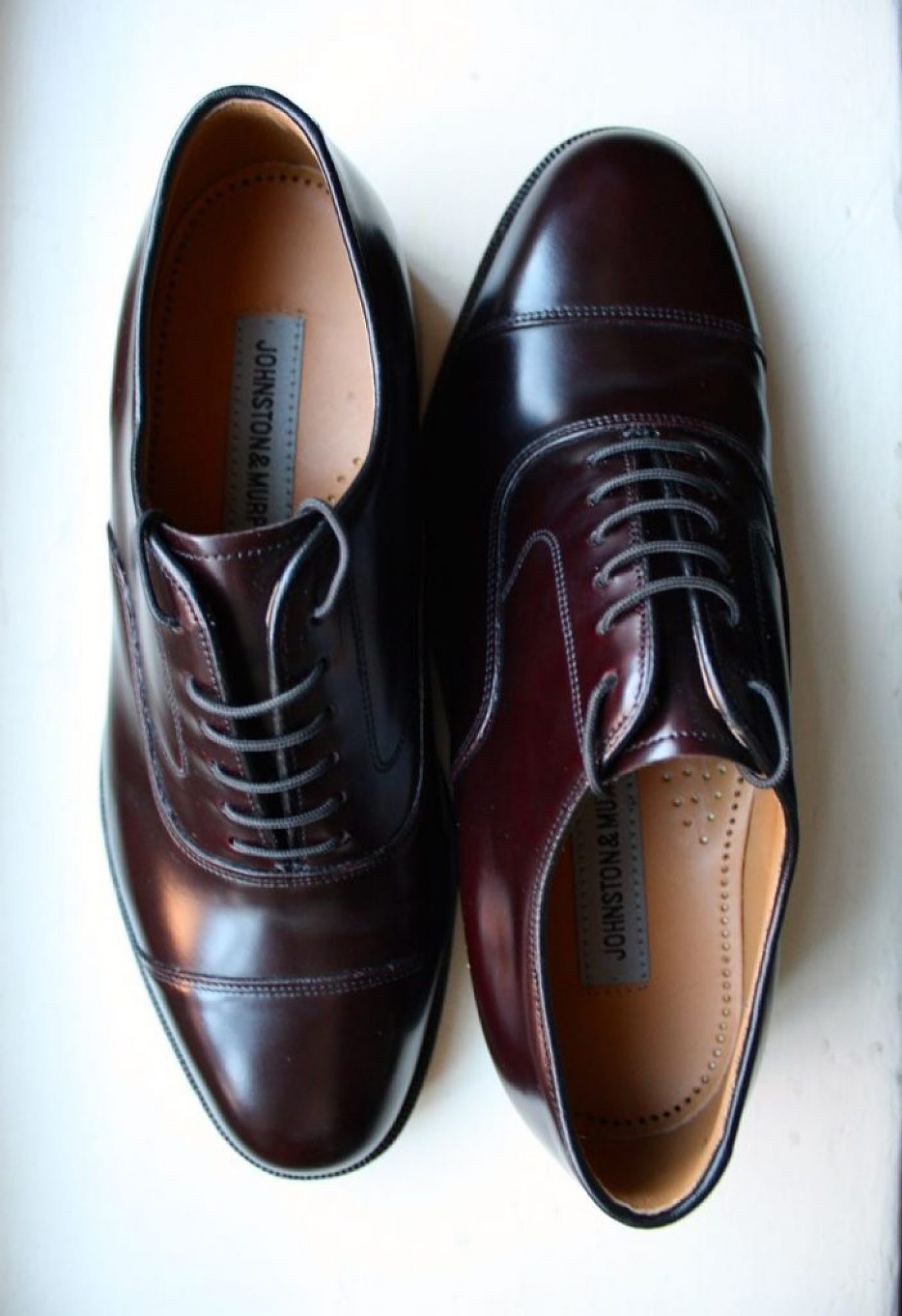 Johnston-and-Murphy-Melton-cap-toe-Oxford